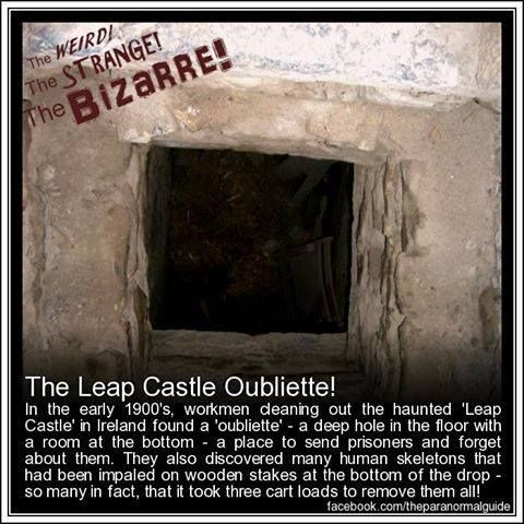 : Ghosts Stories, Ghosts Pictures, Ghosts Hunters, Horrible Places, Haunted Places, Leap Castles, Castles Oubliett, The Labyrinths, Paranormal Guide
