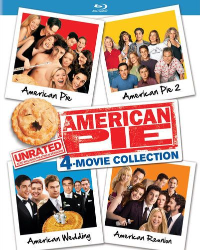 American Pie Unrated 4 Movie Collection Blu Ray Collection Movie