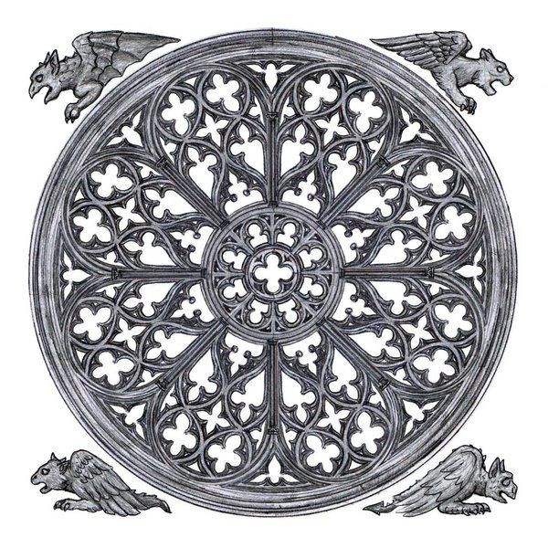11 best rose window images on pinterest rose window for Rose window design
