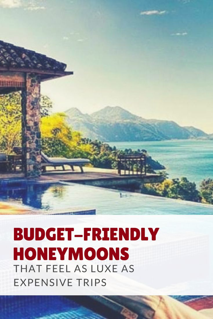 Budget-friendly honeymoons that still feel luxurious. #weddingplanning #honeymoon