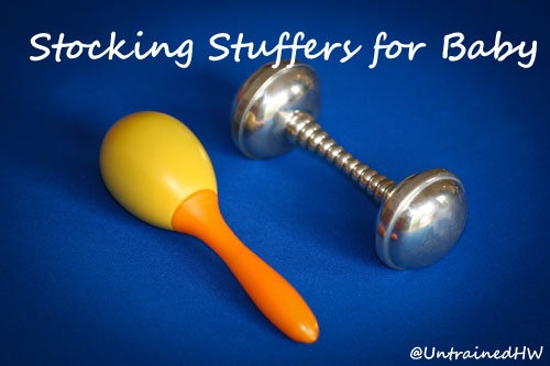 Stocking Stuffers for Baby's First Christmas - Great Gift ideas for any baby!
