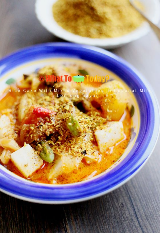 RICE CAKE WITH VEGETABLES AND MEAT / LONTONG SAYUR | WHAT TO COOK TODAY?