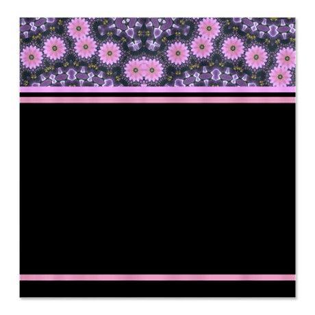 Flower Mandala Pink Stripes Shower Curtain #circusvalley