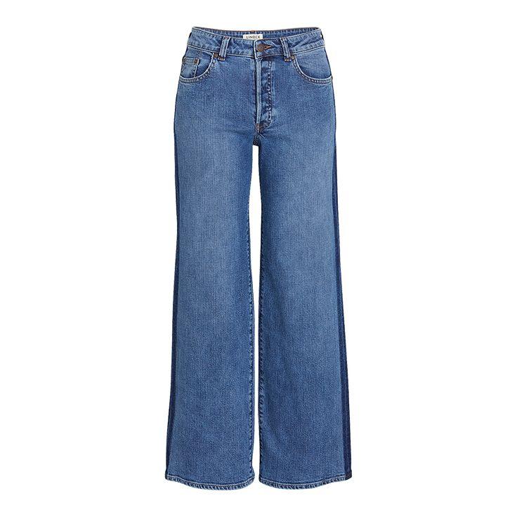Flared Jeans Blå