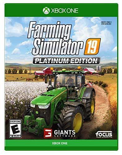 Farming Simulator 19 Platinum Edition Xbox One In 2021 Farming Simulator Xbox One Xbox