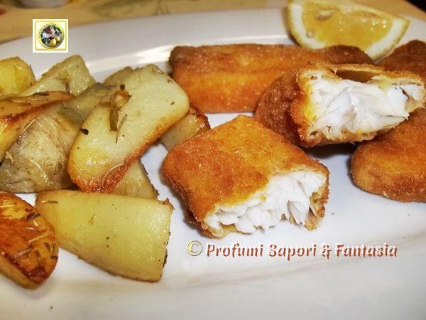 Pesce persico impanato al forno ricetta