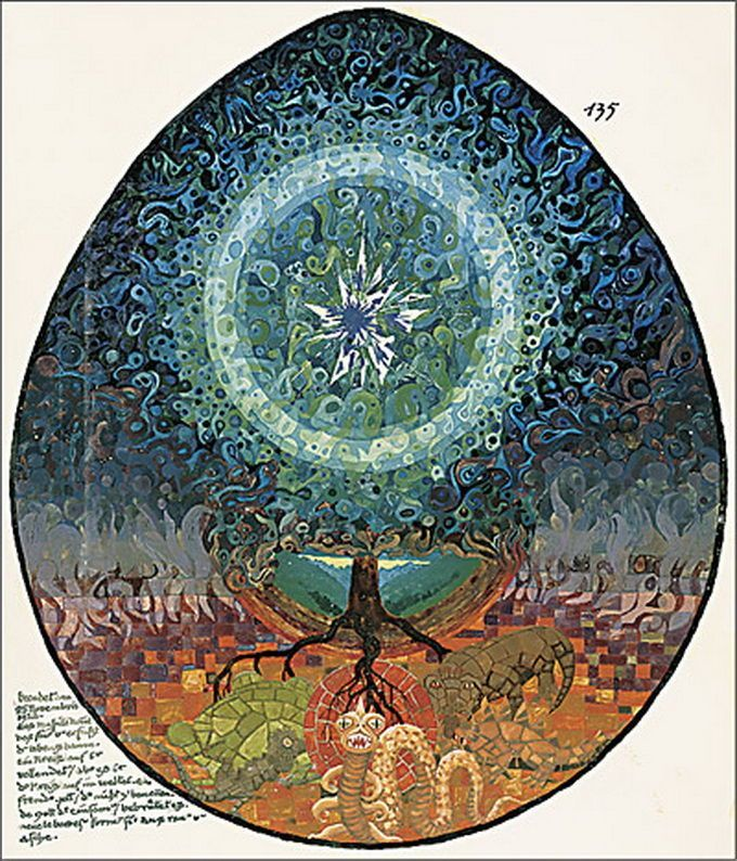 El Libro Rojo, de Carl Gustav Jung - Taringa! y los misterios estan. | Red  books, Art, Tech art