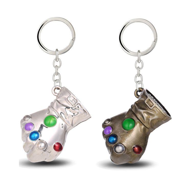 Thanos Infinity Gauntlet Keychain //Price: $8.00 & FREE Shipping //     #batman #deadpool #marvelc #dc