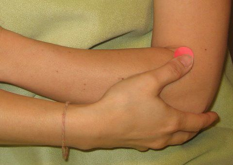 accupressure elbow