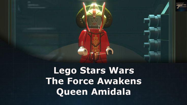 Lego Star Wars The Force Awakens Queen Amidala Unlock Location