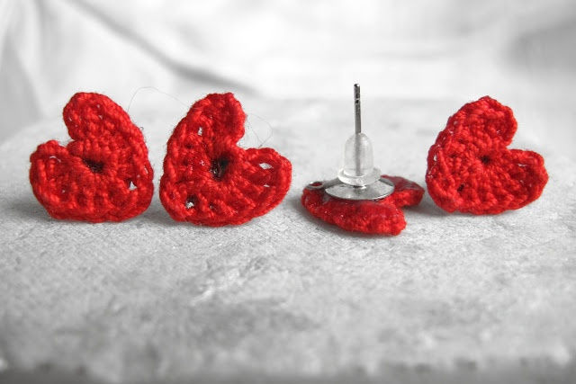 Haak Maar Aan: gehaakte hartjes en juwelen