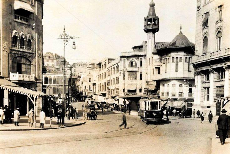 """""""Karaköy (1926-29?)  #beyoğlu #istanbul"""""""