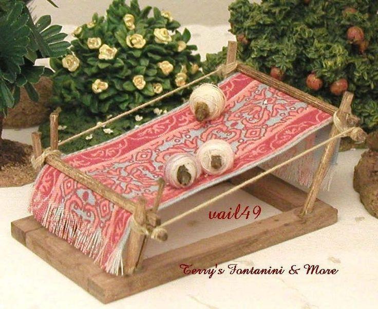fontanini italy 5 nativity rug loom nativity village. Black Bedroom Furniture Sets. Home Design Ideas