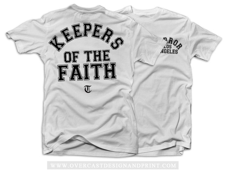 """Terror """"Keepers"""" White T-Shirt"""