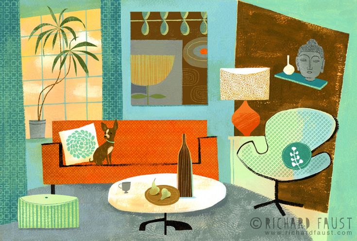 ©Richard Faust - 'Living Room' www.richardfaust.com: