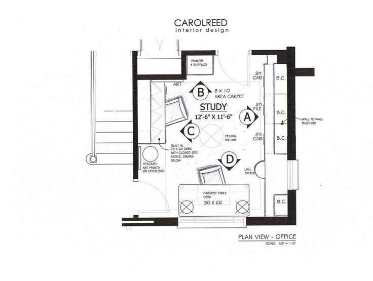 Astonishing Home Office Floor Plan Contemporary Best Image