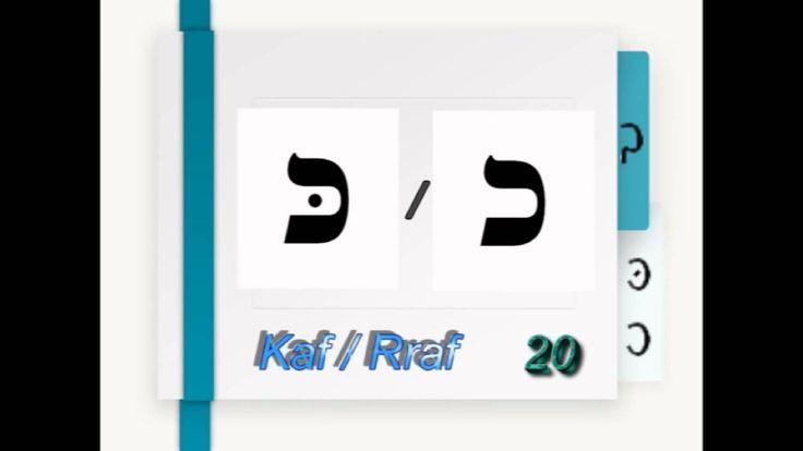 Alphabet hébreu et prononciations Aleph-bet