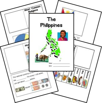 FREE Philippines Lapbook
