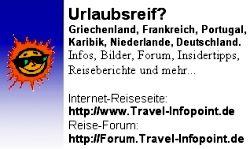 Infos von Urlaubern für Urlauber