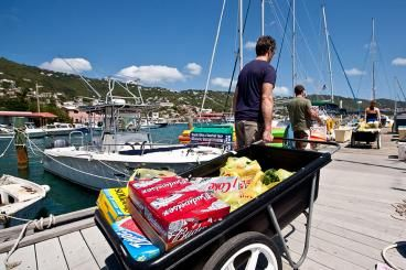 Provisioning for a Sailboat Charter