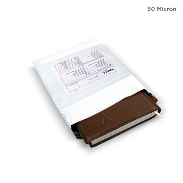Plain Tamper Proof Courier Bag Online (50 Micron)