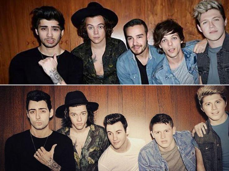 Des fans des One Direction menacent de mort un groupe de sosies - « On dirait des oignons, ils piquent les yeux »
