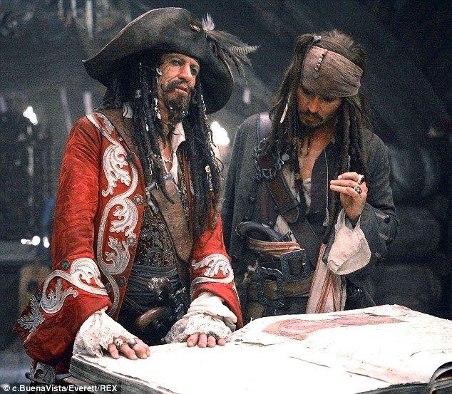 Thick as thieves: Keith Richards, seen here with Johnny in 2007's Pirates Of The Caribbean: At World's End, will reprise his role as Captain Teague, MailOnline can exclusively reveal, in a fifth installment of the hit series