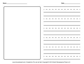blank writing paper