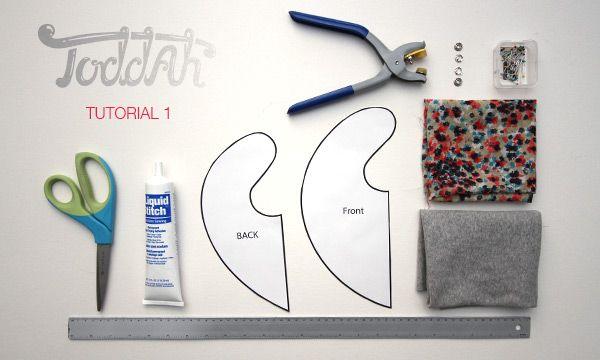 Scarf bib tutorial & free pattern GREAT sxs instructions!
