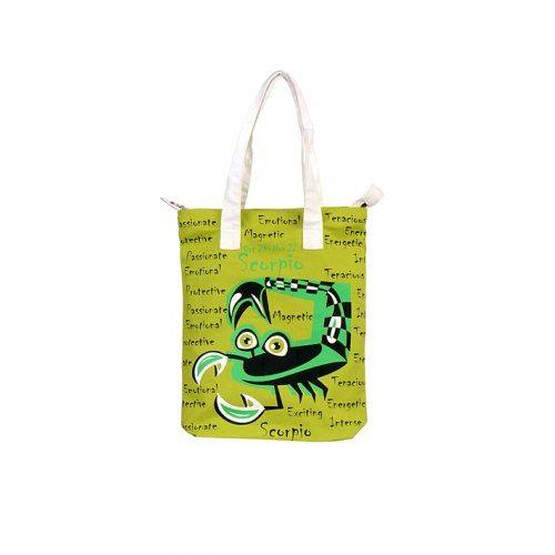 Scorpio Canvas Green Bag