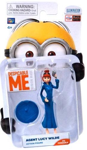 Despicable Me Lucy Wilde Minion Figure @ niftywarehouse.com #NiftyWarehouse #DespicableMe #Movie #Minions #Movies #Minion #Animated #Kids