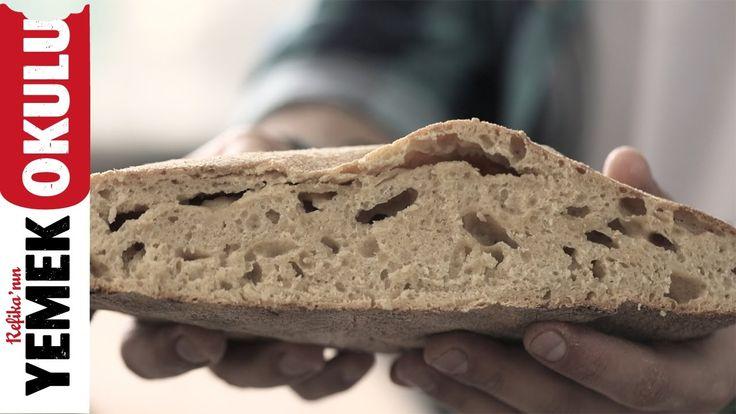 Yoğrulmayan Ekmek Tarifi | Burak'ın Ekmek Teknesi