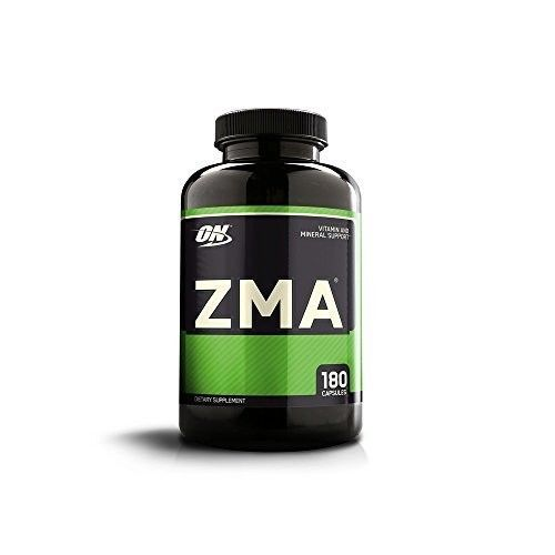 NEW Supplement Optimum Nutritional ZMA Nighttime Muscle Recovery 180 Capsules #OptimumNutrition