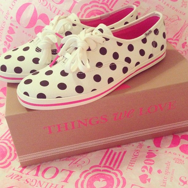kate spade for keds. put these on my feeties
