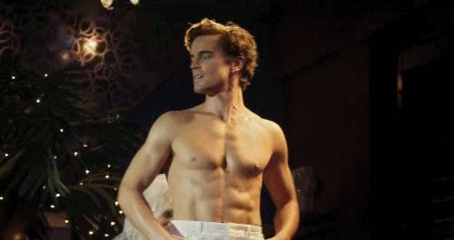And every single Magic Mike scene he appeared in. | 37 Times Matt Bomer Blessed Us All With His Presence