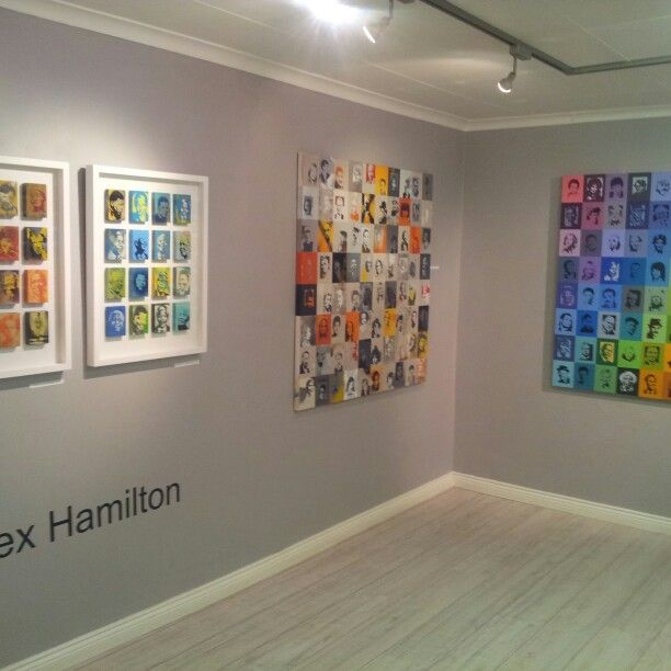Exhibition view - Alex Hamilton
