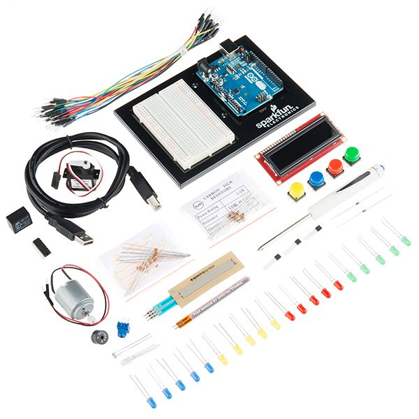 WANT - SparkFun Inventor's Kit (for Arduino Uno) - V3.2 ---- HEY HEY!!!  For more COOL ARDUINO stuff, check out http://arduinohq.com