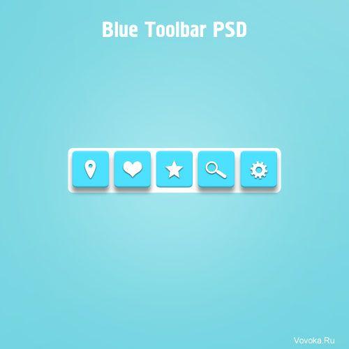 Панель Инструментов PSD
