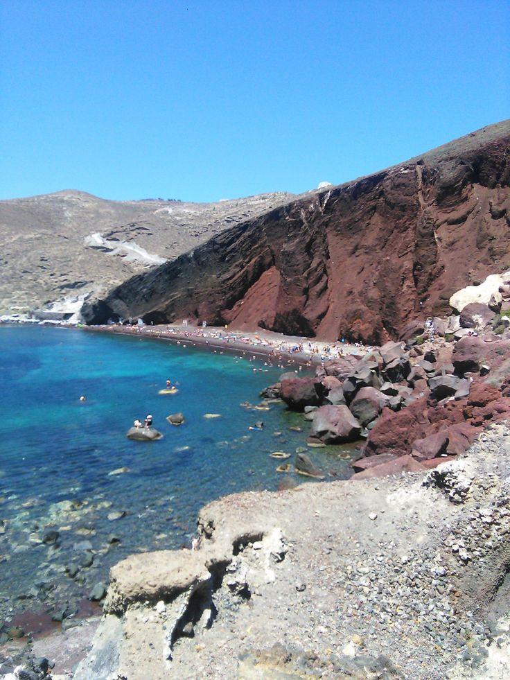 Červená pláž