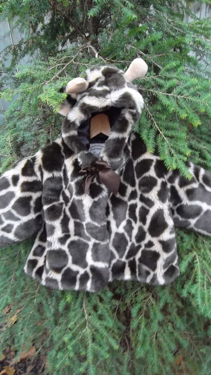 Eco Outfitters Online - Bearington Faux Fur Giraffe Coat (6-12M fits to 18M), $21.00 (http://www.ecooutfittersonline.ca/bearington-faux-fur-giraffe-coat-6-12m-fits-to-18m/)