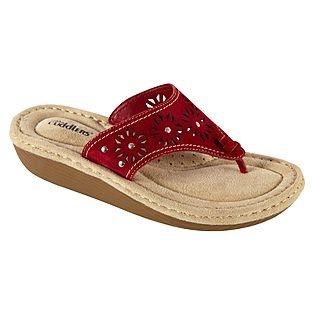 Womens Comfort Sandal Bette - Red
