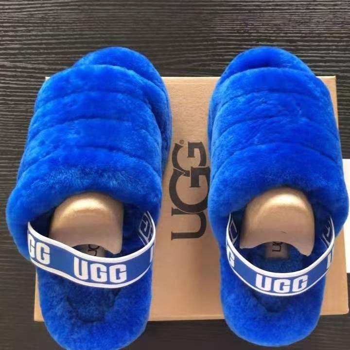 Royal blue UGG SLIDES | Blue uggs, Blue