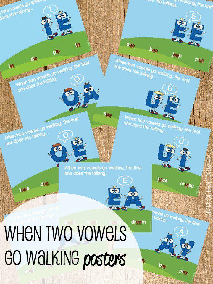 Classroom Design For Grade 3 ~ Super motivating vowel team activities