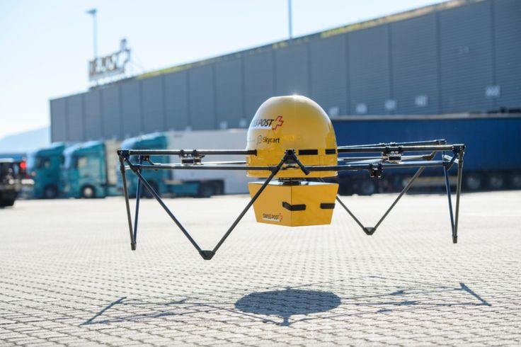 Swiss hospitals will start using drones to exchange lab samples