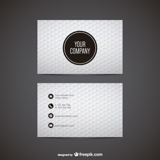 226 best business cards images on pinterest business cards carte black and white polygonal business card reheart Choice Image