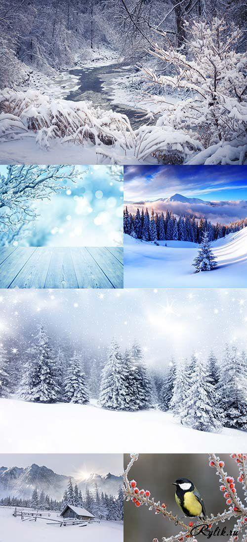 Красивые зимние пейзажи фото. Winter Landscapes
