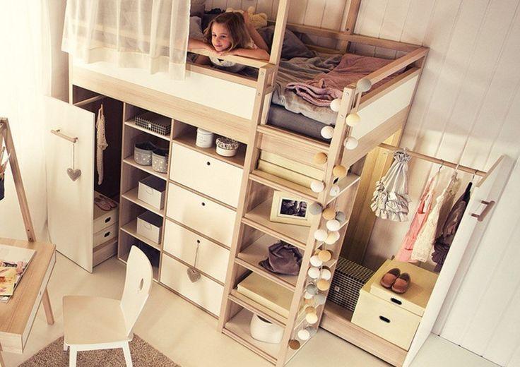 Spot højseng - træ/hvid | home | Pinterest | Hus, House och Inspiration