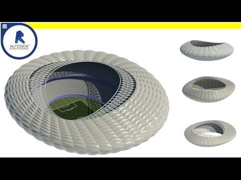 Learn how to model a parametric stadium - Computational Design ( Using Dynamo) - YouTube