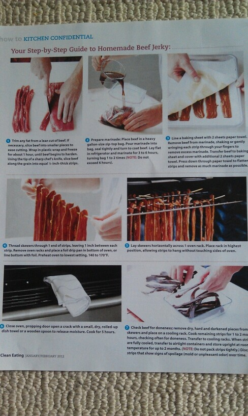 + images about Beef Jerky on Pinterest   Homemade beef jerky, Jerky ...