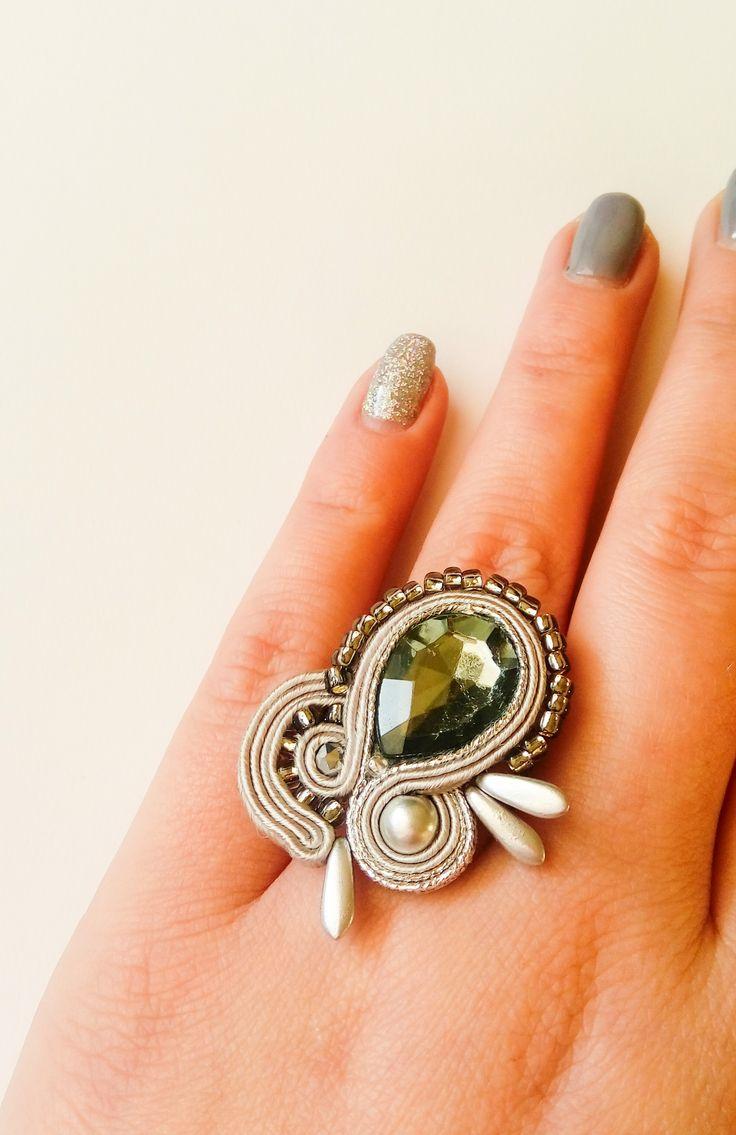 #pierścionek #ring #sutasz #soutache